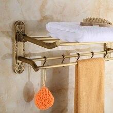 Античная вешалка для полотенец меди моды складной вешалка для полотенец старинные вешалка для полотенец gy310