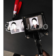 Handheld Foto Clipper Werkzeug Hand Foto Zuschneiden Foto Schere Zange Ein Zoll Foto Abgerundete Rechten Winkel Abschneider 1 PC