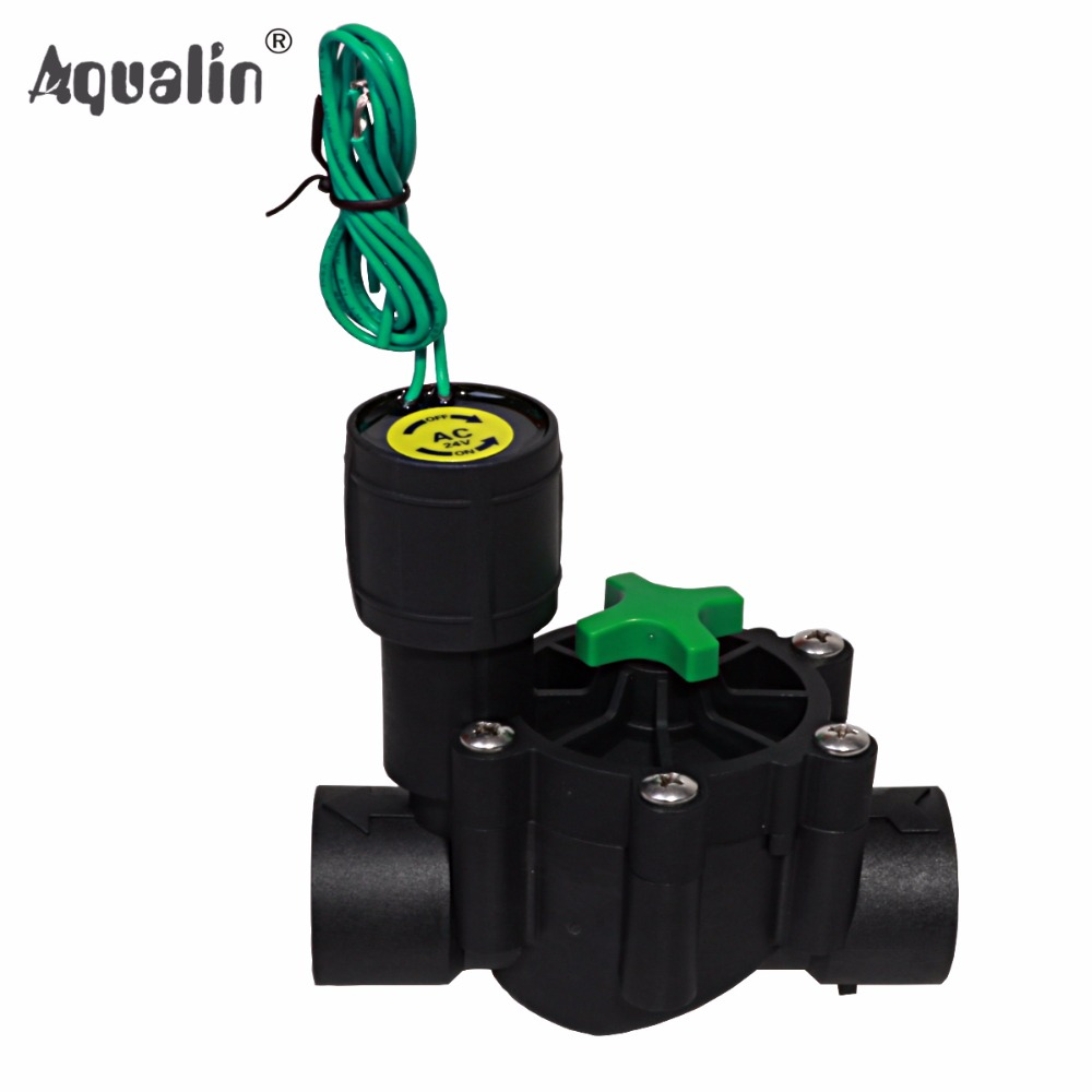 3/4'' Or 1''  Industrial Irrigation Valve 24V AC Solenoid Valves  Garden Controller Used In 10469 And 10468 Controller #28004