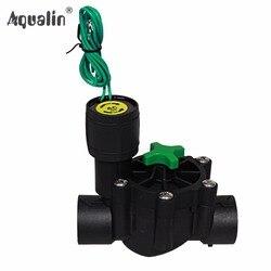 3/4 ''lub 1'' przemysłowy zawór irygacyjny 24V AC zawory elektromagnetyczne sterownik ogrodowy używany w kontrolerze 10469 i 10468 #28004 w Liczniki ogrodowe do wody od Dom i ogród na