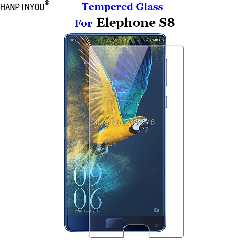 """For Elephone S8 Tempered Glass 9H 2.5D Premium Screen Protector Film For Elephone S 8 6.0"""""""