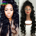 Synthetic Wave Bob Lace Wigs for Black Women Synthetic Lace Front Wigs with Baby Hair Sensational Synthetic Wigs Free Shipping
