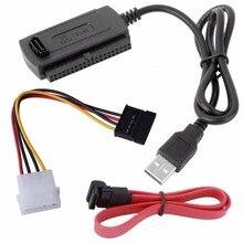 SATA/PATA/IDE привод к USB 2,0 адаптер конвертер кабель для 2,5/3,5 дюймов жесткого диска