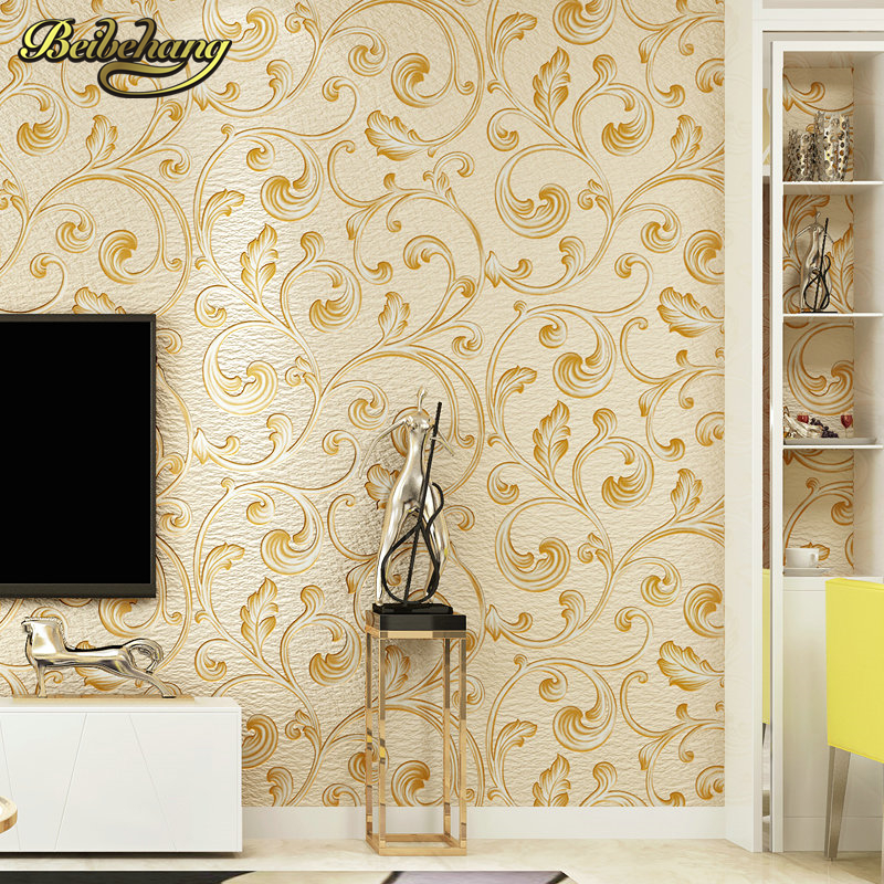 beibehang papel de parede 3d Deer skin floral lotus flower wallpaper roll wall paper Living Room flooring wall papers home decor forest floral deer print tapestry wall hanging art