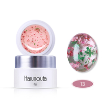 Harunouta Dried Flowers Nail Polish Floral Decoration Art Gel Soak Off Manicure UV