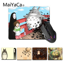 Mouse-Pad Maiyaca Totoro Spirited Rubber Office Size Away Mice for 18x22cm 25x29cm Gaming