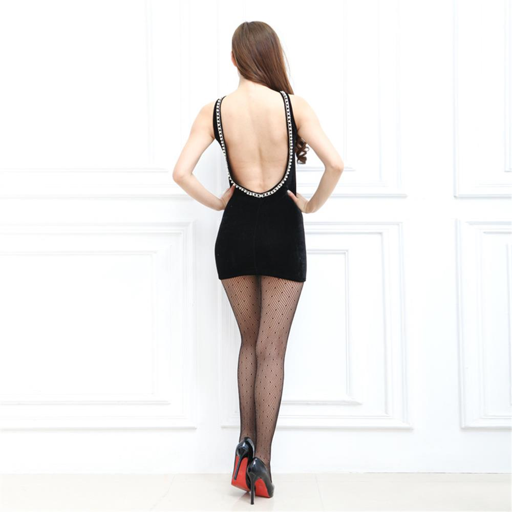 fac73d2cddd 2019 Women Fashion Small Mesh Pantyhose Lady Sexy Mesh Fishnet ...