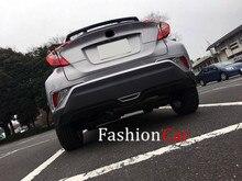 ABS chrome задний тормоз свет рамка украшения 1 шт. Для Toyota C-HR 2016 2017 с низким уровнем оснащенная модель