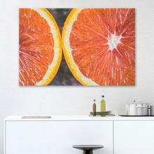 Prints Pictures Home Wall Art Modular Poster 1 Panel Pomelo Fruit Painting Food On Canvas Modern Living Room Decoration Framed(China)