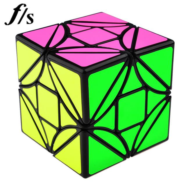Brand New Fangshi F/S Divertimentos Limcube 6.5 cm 3x3 Dreidel Simples Versão Magic Cube Puzzle Cubos educacionais Brinquedo Brinquedos Especiais