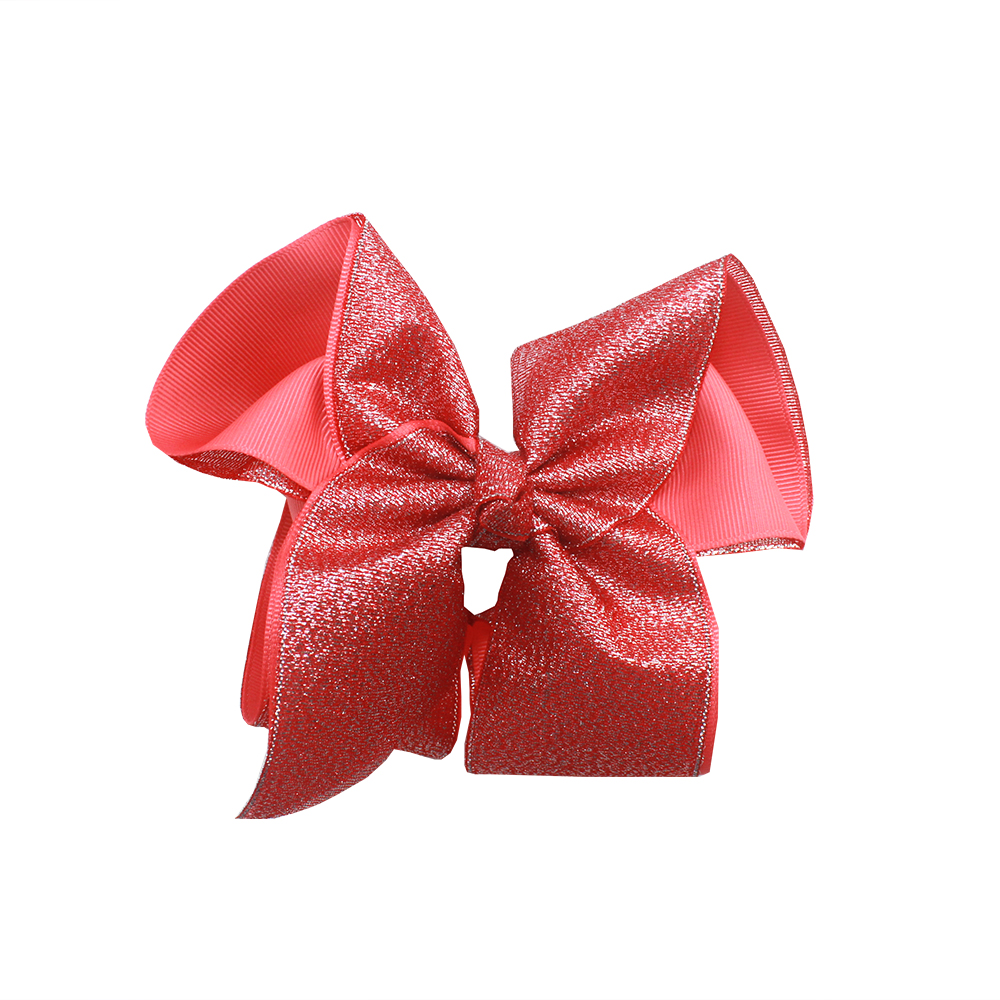 2019 new Shiny ribbon girls hair bows Crocodile clip hair accessories children Hairpins Factory direct sales in Hair Accessories from Mother Kids