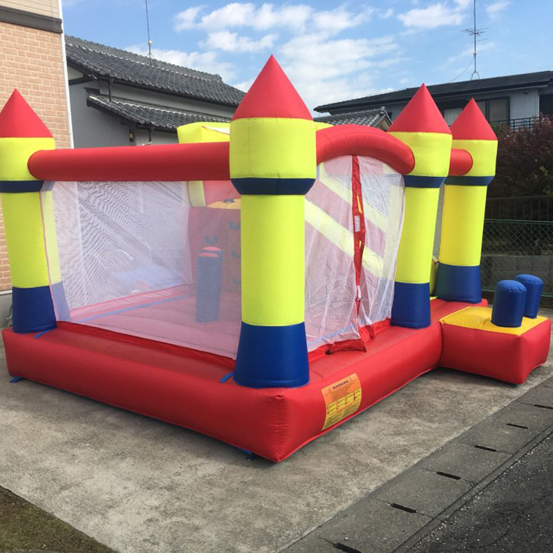 YARD Best Quality Bouncy Castle Bounce House with Slide Inflatable Toys for Kids, Inflatable Bouncer Castle for Sale tropical inflatable bounce house pvc tarpaulin material bouncy castle with slide and ball pool inflatbale bouncy castle