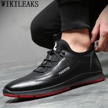 Дизайнерская обувь мужская обувь повседневные кожаные черные кроссовки зимняя обувь мужские кроссовки кожаные кроссовки мужские брендовые Короткие Плюшевые