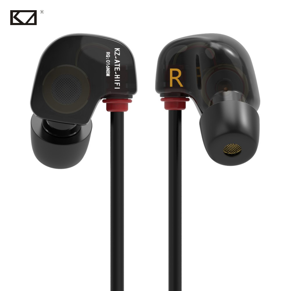 купить KZ ATES Sport Headphone with Mic Ecouteur Headset Cuffie Audifonos con Microfono Auriculares Hoofdtelefoon for Xiaomi MP3 Player недорого