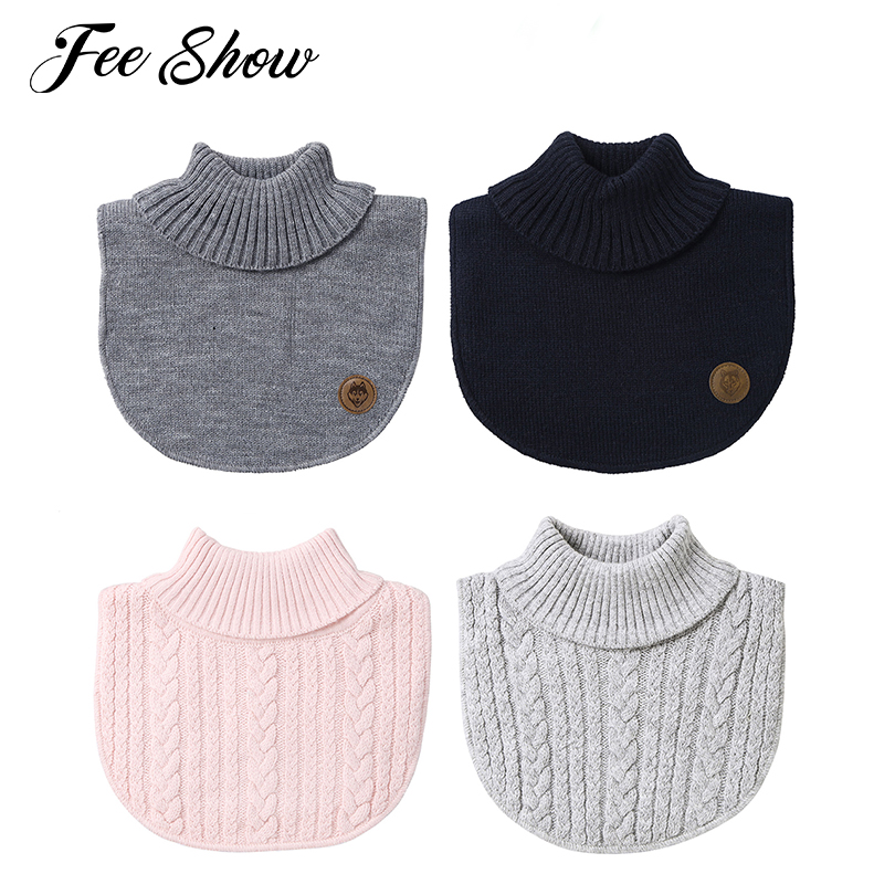 Apparel Accessories Latest Collection Of Baby Childrens Neck Gaiter Scarf Fake Collar Kraagjes Dames Baby Turtleneck Warmer Sweater Collar Neck Cover Lightweight Collar