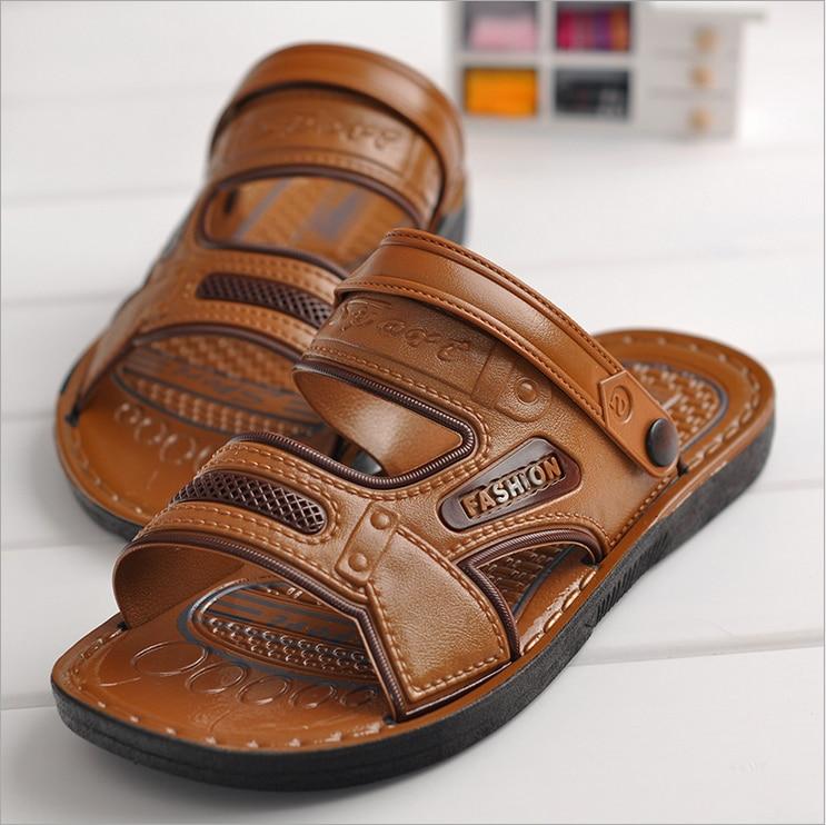 U20aa2017 Double Use Slides Sandals U0b67u0295 U0294u0b68 Fashion Fashion Black/brown Classics U0b67u0295 U0294u0b68 Flat Flat With ...