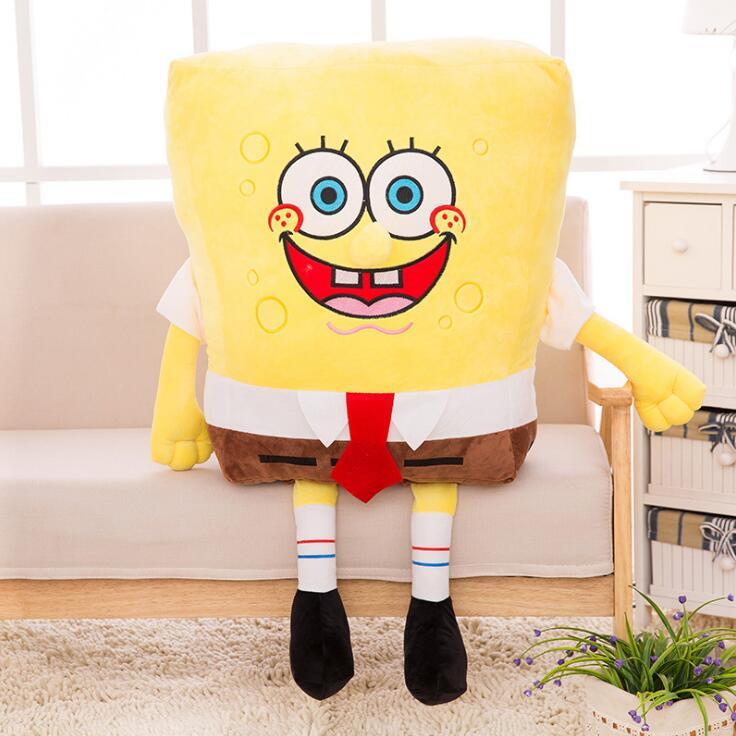 Sponge Bob Creative New 20cm Spongebob And 20 Cm Patrick Plush Toy Soft Cartoon Toy For Kids Doll Birthday Gift Home Decoration