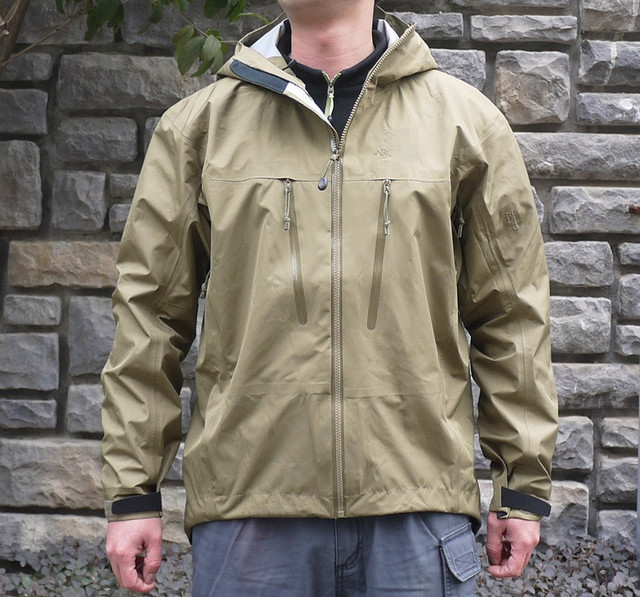 Outdoor jacket LEAF ALPHA LT hard shell waterproof casual jacket ...