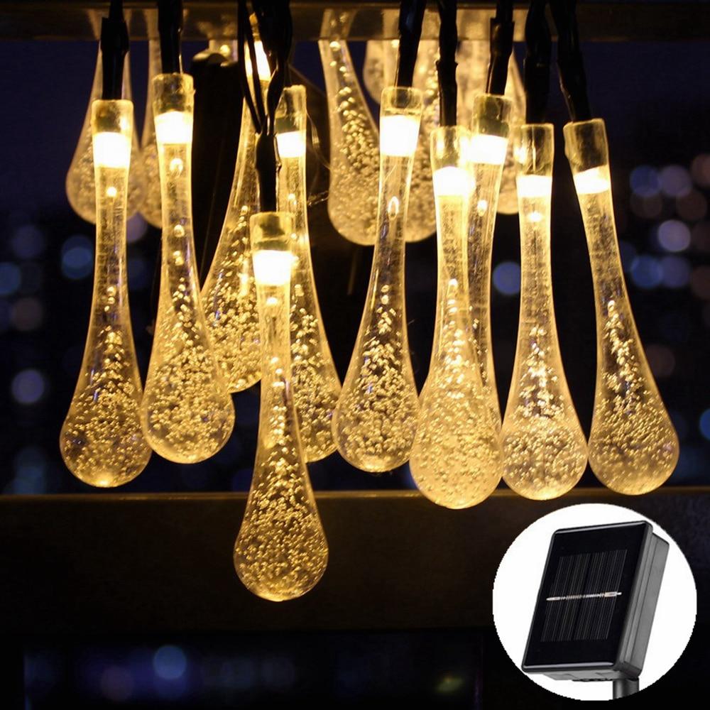все цены на 5-22M Crystal Stick LED Solar Lamp Fairy String Light Outdoor Decoration Holiday Lights For Garden,Christmas Tree,Lawn,Landscape онлайн