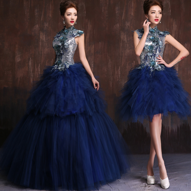 Popular Royal Blue Masquerade Dress-Buy Cheap Royal Blue ...