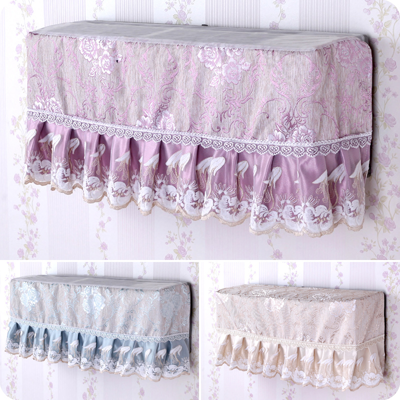Universal European fabric lace air conditioner cover wall-mounted air-conditioning inside the hood dust cover for home