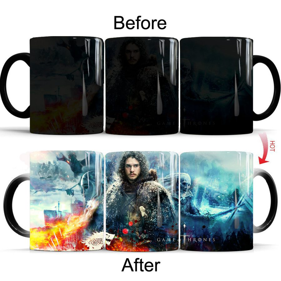 Color Changing Mug Game Of Thrones 13