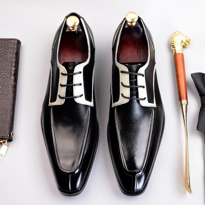2019 High Quality Formal Dress Man Shoes Genuine Leather Handmade Oxfords Luxury Design Mens Bridal Wedding Party Flats SS3812019 High Quality Formal Dress Man Shoes Genuine Leather Handmade Oxfords Luxury Design Mens Bridal Wedding Party Flats SS381