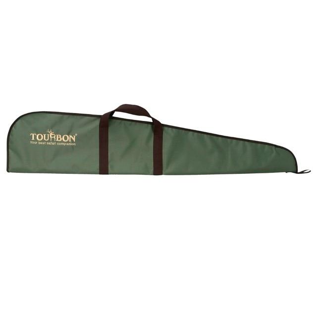 Tourbon Hunting Gun Accessories Rifle Slip Gun Case Durable Padded Gun Bag Protection Cover Zipper 124cm