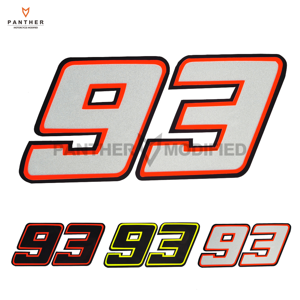 3 Color Motorcycle mm93 Sticker Motocross Red Ants mm 93 Racing ...