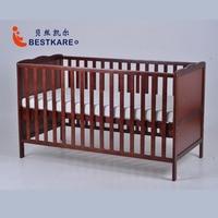 Европейский стиль детская кровать Multi функциональный защиты окружающей среды детские кроватки