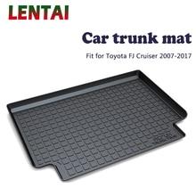 EALEN 1PC Car rear trunk Cargo mat For Toyota FJ Cruiser 2007 2008 2009 2010 2011 2012 2013 2014 2015 2016 2017 Anti-slip Mat цена 2017