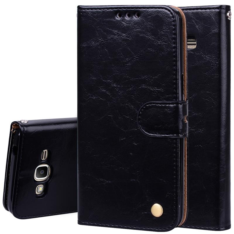 Galleria fotografica Luxury Wallet Flip Case For Samsung Galaxy J8 J4 J6 J2 2018 A6 S3 S5 S7 S6 Edge S4 Mini J1 J3 J5 2016 J7 Pro A3 A5 2017 J2 Prime