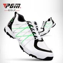 Мужские Нескользящие кроссовки pgm дышащие лакированные с 3d