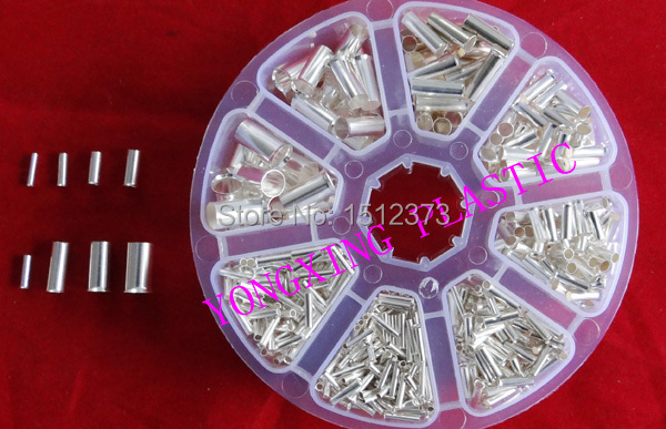 765PCS/Lot naked insulated terminall block wire ferrules connector 8size mixed from 22-16AWG tp760 765 hz d7 0 1221a