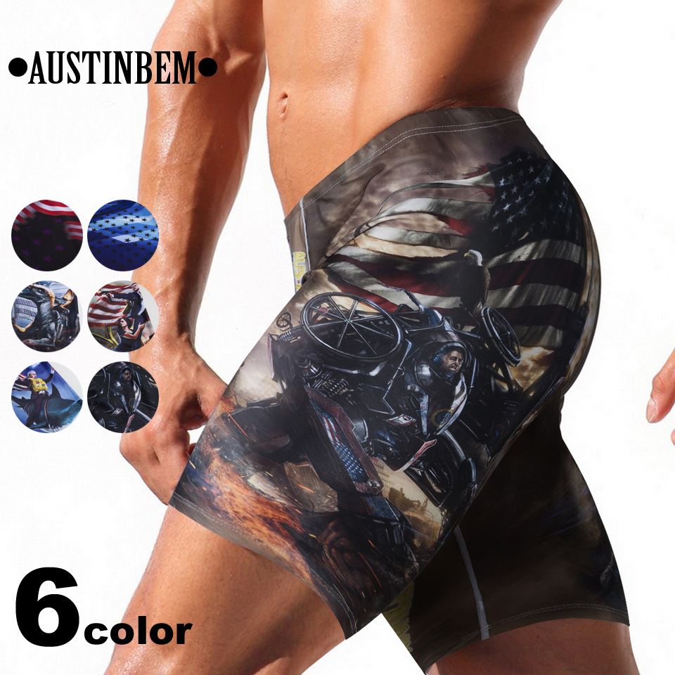 Men Swimming Trunks Bathing Suit Swimsuit Beach Bathing Suit Professional Men Competitive Swim Trunks Swimwear Jammer Swimsuit недорго, оригинальная цена