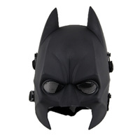 Hot Resin Halloween Cosplay Batman Mask Adult Masquerade Đảng Carnival Mặt Nạ Động Vật Đầy Đủ Mặt Costume CS Trò Chơi Mặt Nạ Miễn Phí Vận Chuyển