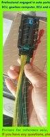 Аксессуары для электронных блоков управления/разъем ЭБУ/разъем для компьютера автомобильного двигателя/73-контактный разъем 73-контактный р...