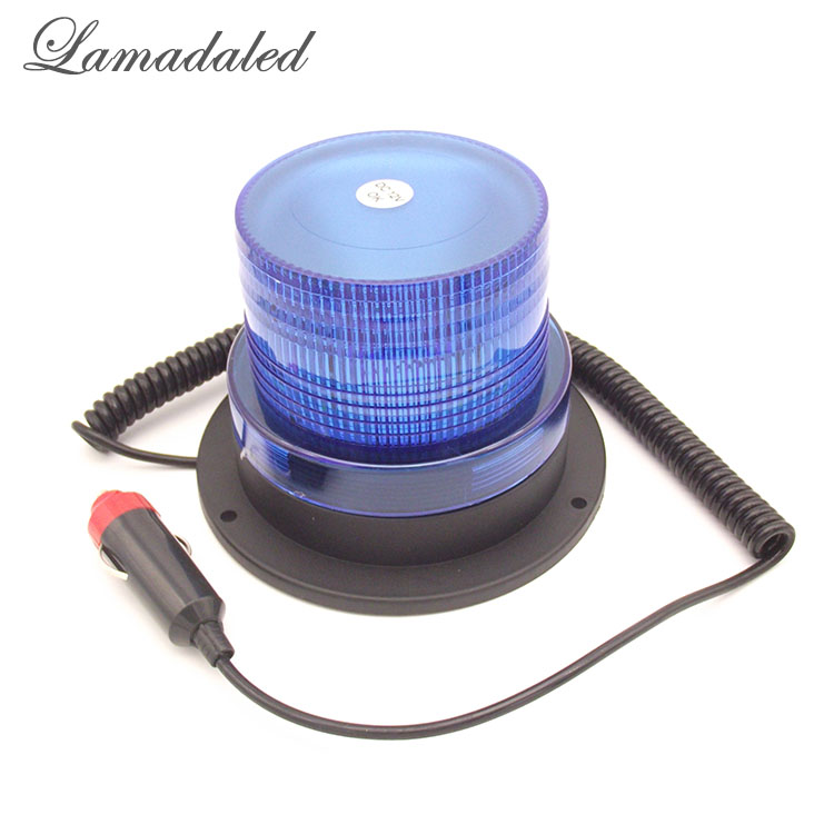 Lamadaled Dc12v Blue Police Vehicle Emergency Car Roof