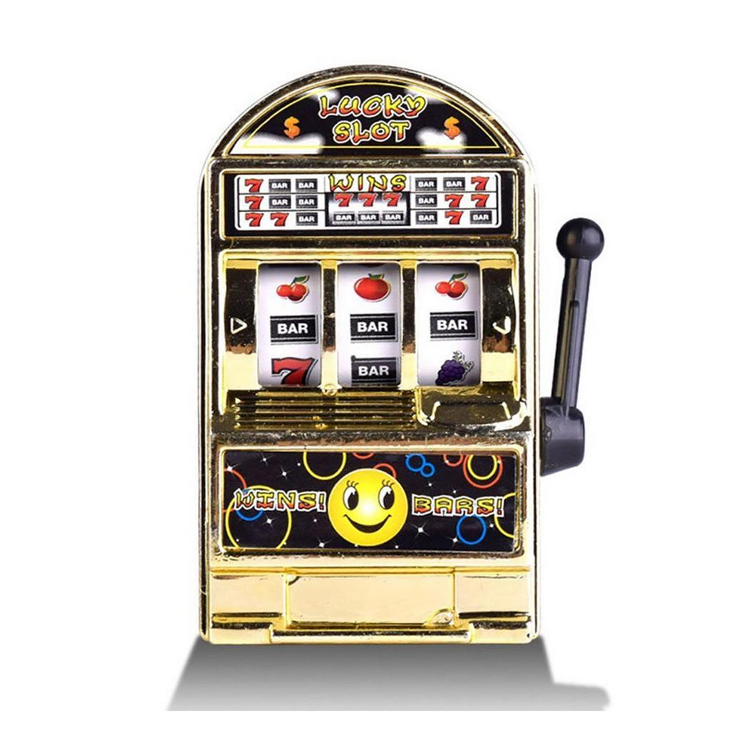 Children Mini Slot Machine Toy Creative Handheld Mini Fruit 7-14 Years Old Machine Game Device Home, Bathroom image