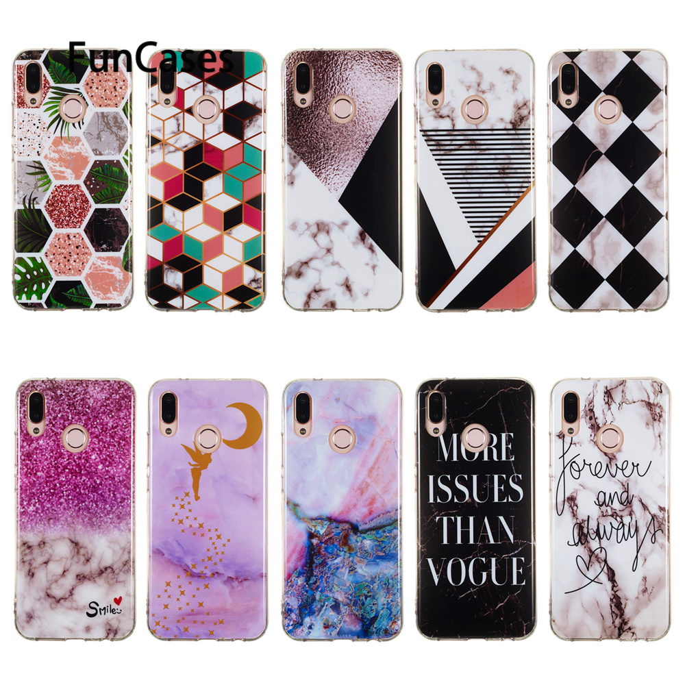 Soft Phone Cases For Huawei Y3 2018 Phone Cases sFor Huawei Honor 9 Lite 10 Mate 20 Pro P20 Plus P30 P10 P9 Mini <font><b>Y5</b></font> Y6 Y9 <font><b>2019</b></font> image