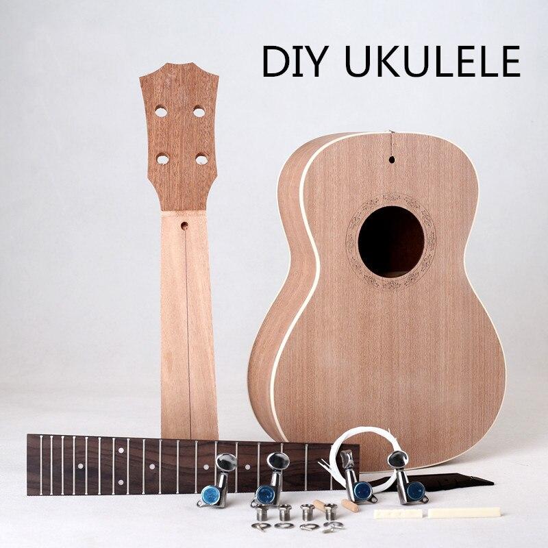 Ukulélé professionnel 23 pouces bricolage uklele petite guitare ukulélé peint à la main livraison gratuite