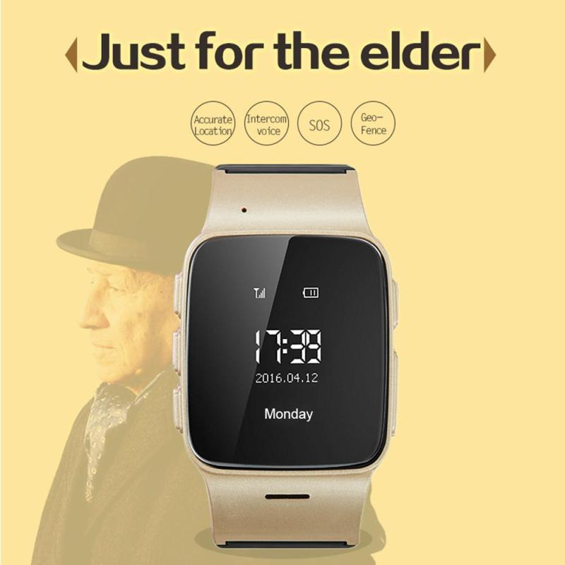 цена на D99 Smart Watch Elderly kids Smart Watch Phone SOS Anti-lost Gps+Wifi Tracking watch for iphone Android phones Old Men Women