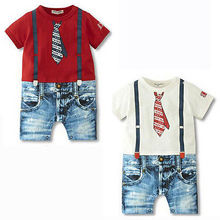 Baby Boys Kids Newborn Infant Overalls Romper Bodysuit Outfit Clothing Set 3-24