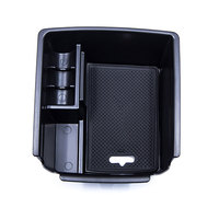 BBQ FUKA 1x Car Central Armrest Storage Box Holder Glove Container Car Interior Tidying For 2017