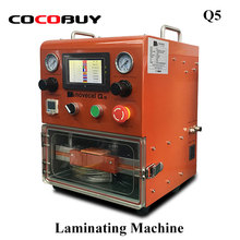 Q5 Two Colors LCD Screen Laminating Machine LCD Glass OCA Laminator For Mobile Phone Screen Repair Curved Flat Tablet 10.5 500w 5 in 1 multifunction oca laminator machine lcd screen laminating refurbishing machine with bubble remover