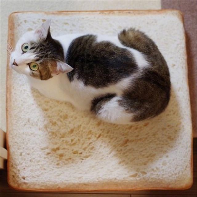 Soft Bread Plush Pillow 1
