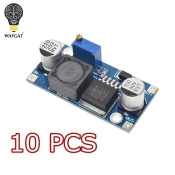 10 piezas WAVGAT XL6009 DC-DC de módulo de fuente de alimentación de salida es ajustable Super LM2577 módulo