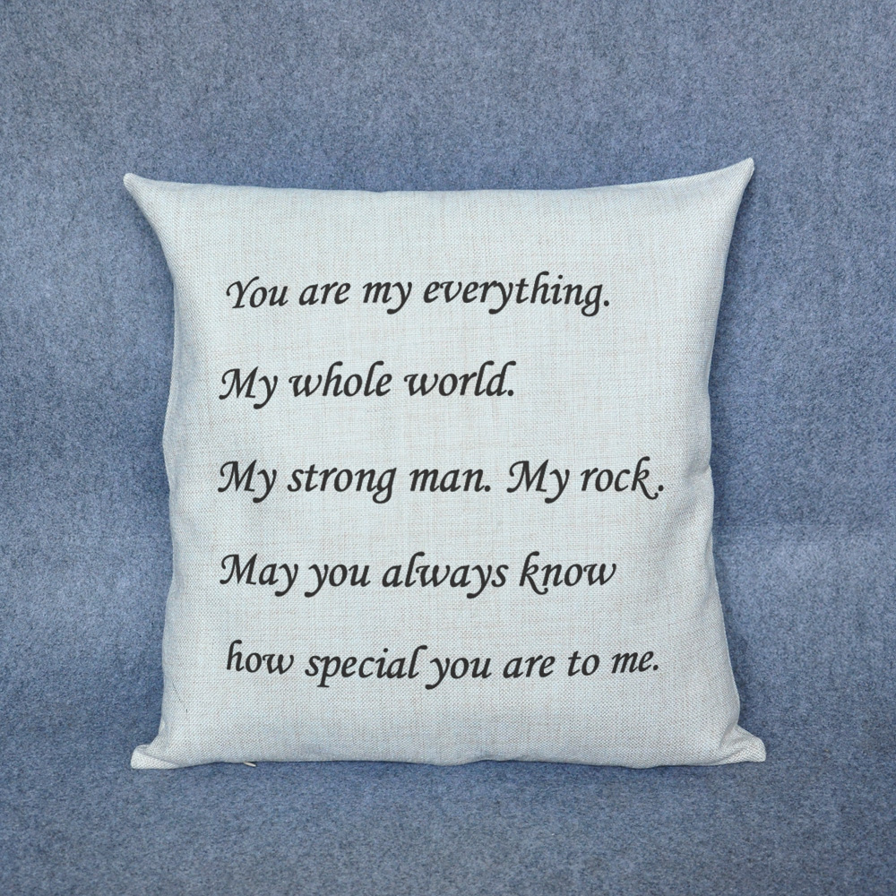 Personalized Gifts For Him Or Her Custom Pillow Love Letters Decorative Throw In Cushion From Home Garden On Aliexpress Alibaba Group