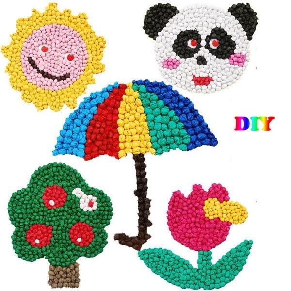 Festival Cartoon Animal Bear DIY Paper Art Craft Kits