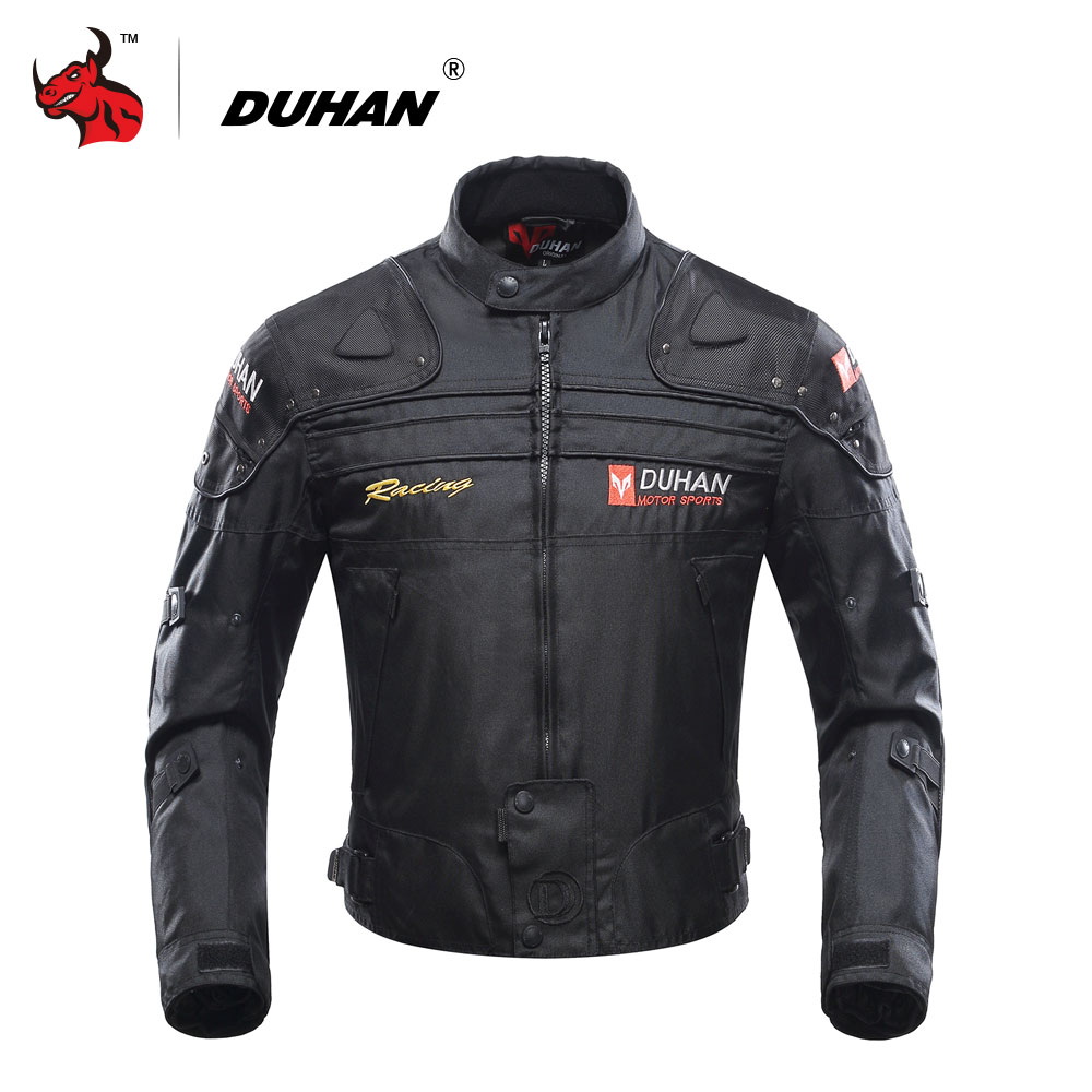 DUHAN Motorcycle Jacket Motorbike Riding Jacket Windproof Motorcycle Full Body Protective Gear Armor Autumn Winter Moto Clothing herobiker armor removable neck protection guards riding skating motorcycle racing protective gear full body armor protectors